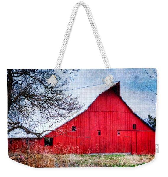 Big Red Barn Weekender Tote Bag