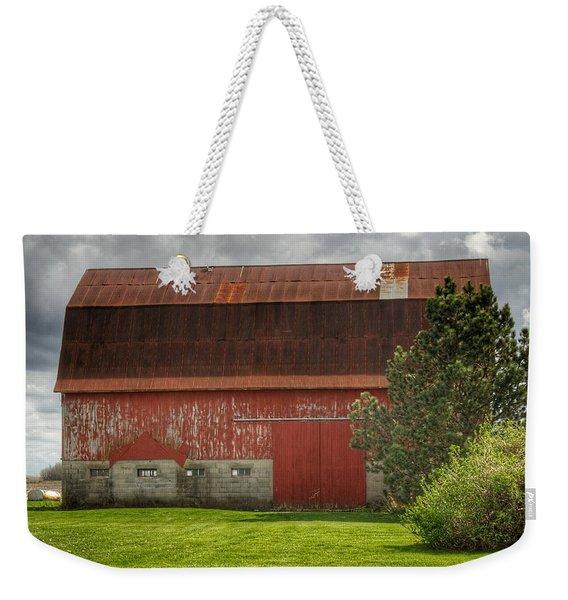 0005 - Big Red Iv Weekender Tote Bag