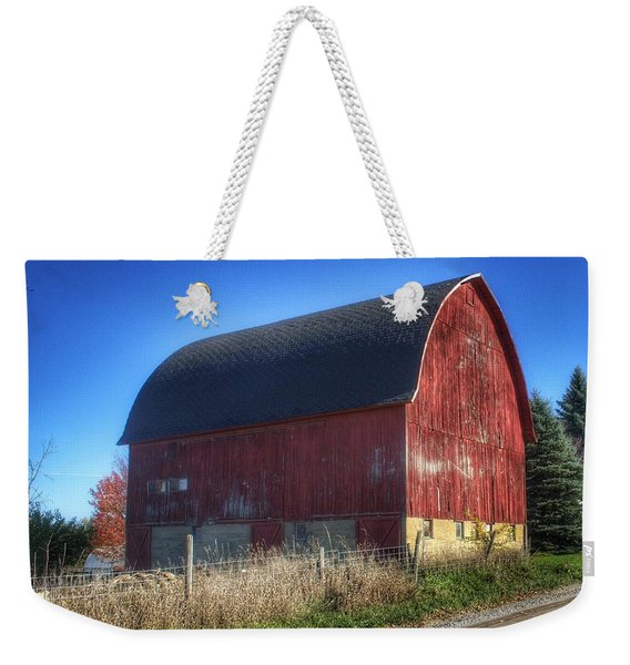 0007 - Big Red Vii Weekender Tote Bag