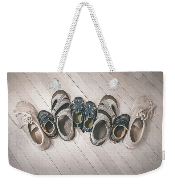Big Shoes To Fill Weekender Tote Bag
