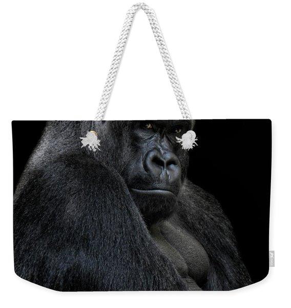 Big Silverback Weekender Tote Bag