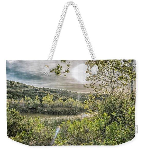 Big Sun Weekender Tote Bag
