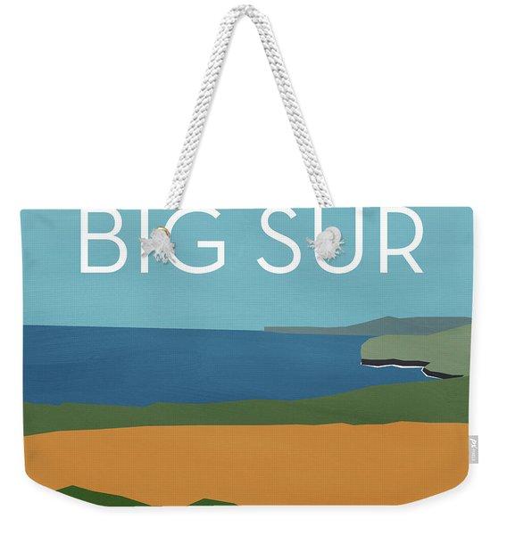 Big Sur Landscape- Art By Linda Woods Weekender Tote Bag