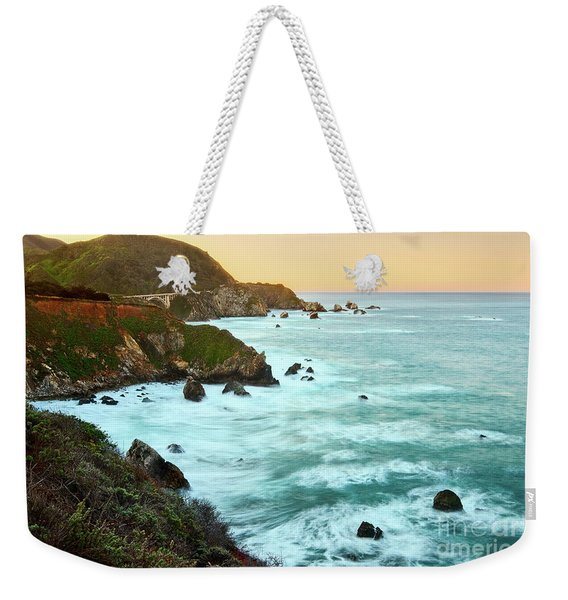 Big Sur Sunrise Weekender Tote Bag