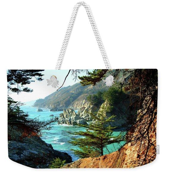 Big Sur Vista Weekender Tote Bag