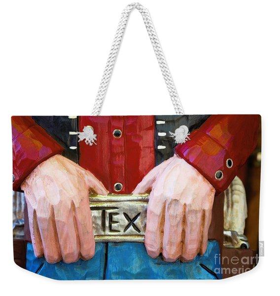 Big Tex Weekender Tote Bag
