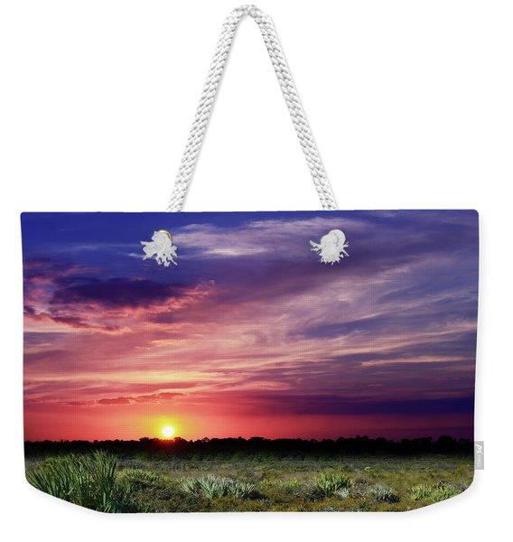 Big Texas Sky Weekender Tote Bag