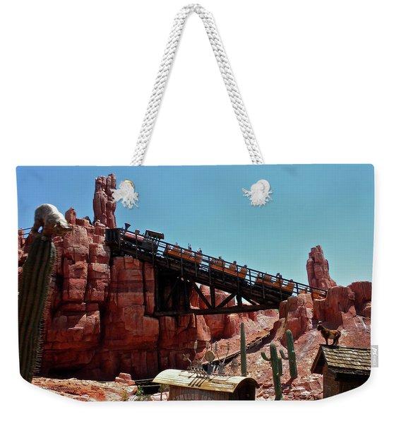 Big Thunder Mountain Walt Disney World Mp Weekender Tote Bag