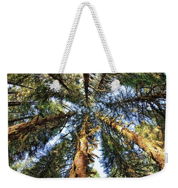 Big Trees In Olympic National Park Weekender Tote Bag