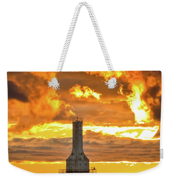 Big Water Sunrise IIi Weekender Tote Bag