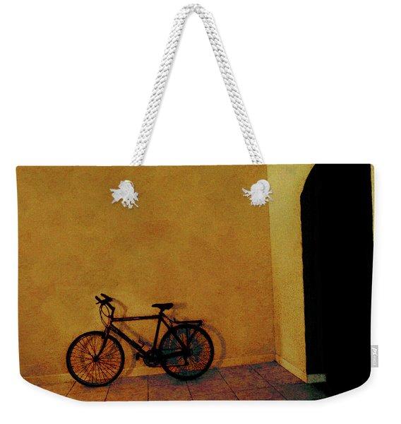 Bike Art Weekender Tote Bag