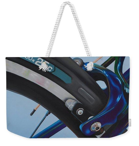 Bike Brake Weekender Tote Bag