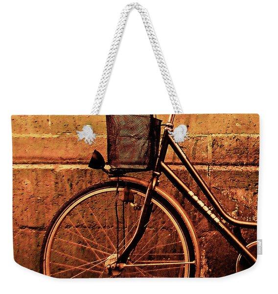 Bicycle At Rest, Paris  Weekender Tote Bag