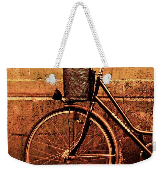 Bicycle At Rest, Paris  Weekender Tote Bag