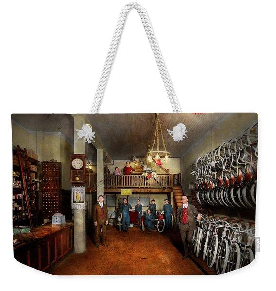 Bike - Store - Haverford Cycles 1919 Weekender Tote Bag