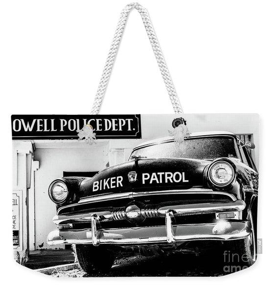 Biker Patrol Weekender Tote Bag