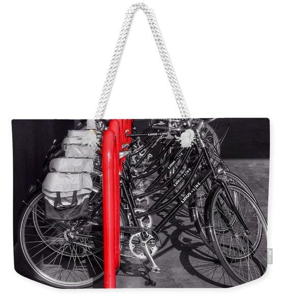 Bikes Weekender Tote Bag
