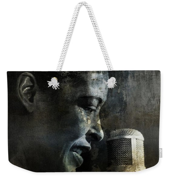Billie Holiday - All That Jazz Weekender Tote Bag