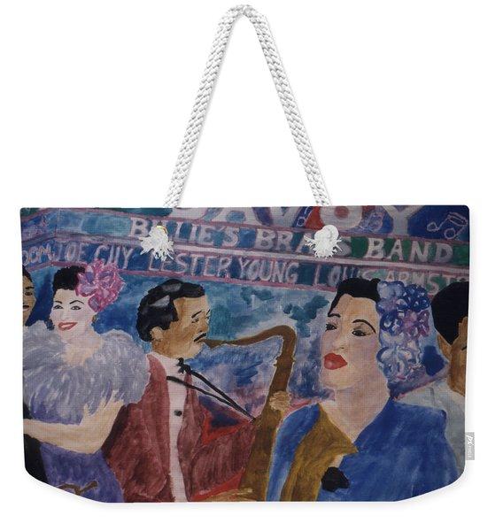 Billie's Brass Band Weekender Tote Bag