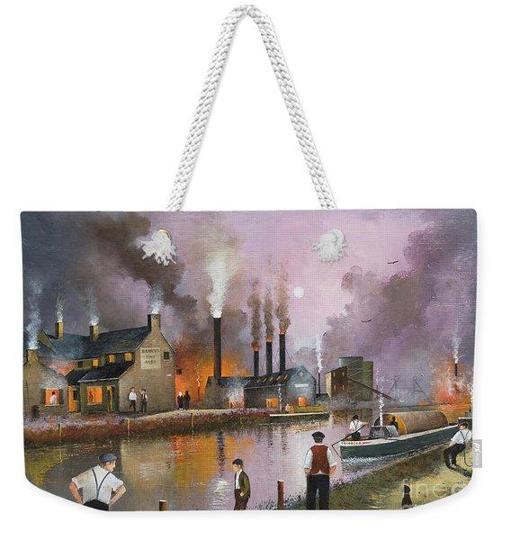 Bilston Steelworks Weekender Tote Bag