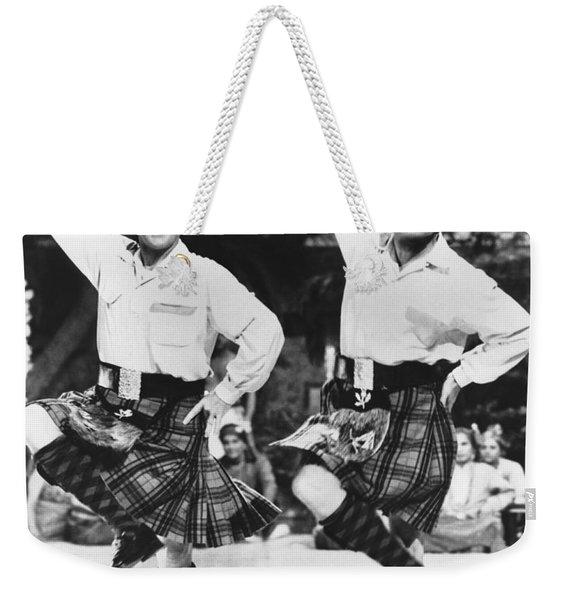 Bing Crosby And Bob Hope Weekender Tote Bag
