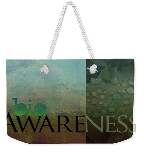 bioAWARENESS II Weekender Tote Bag