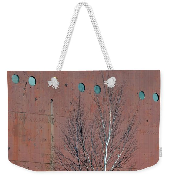 Birch And Ship Weekender Tote Bag