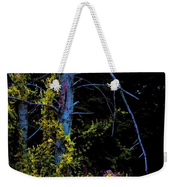 Birch And Vines Weekender Tote Bag