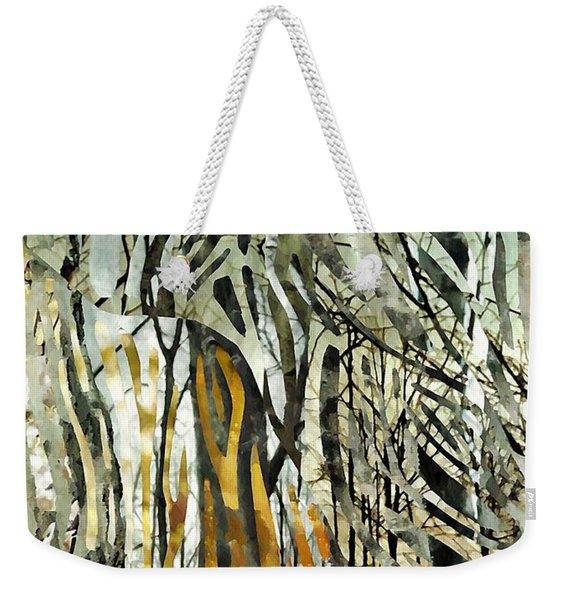 Birch Forest Weekender Tote Bag