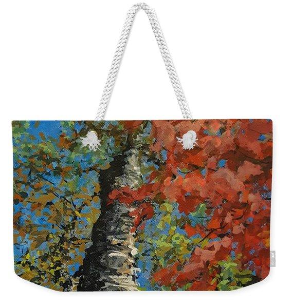 Birch Tree - Minister's Island Weekender Tote Bag