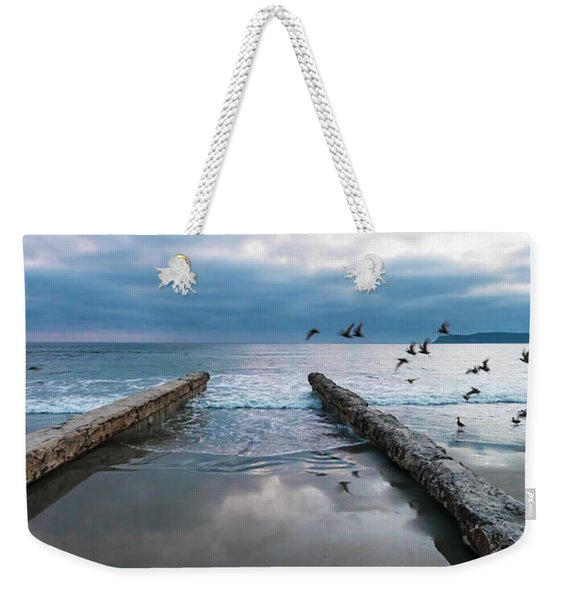 Bird Flight Weekender Tote Bag