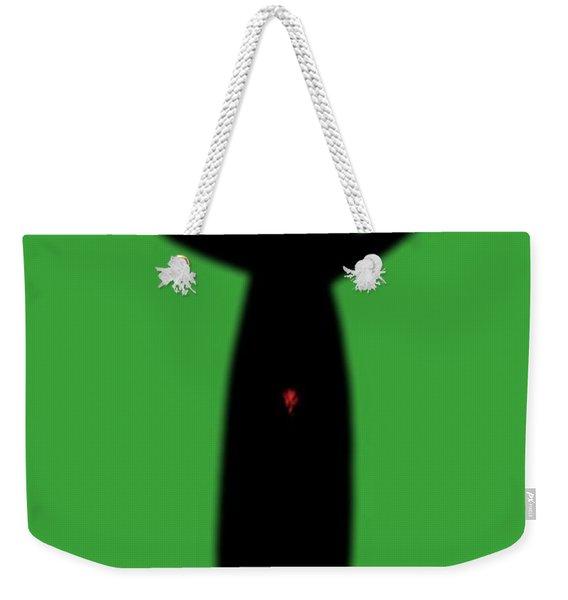 Bird Girl Comes Of Age Weekender Tote Bag