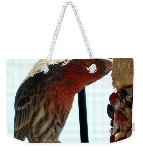 Bird Hits The Jackpot Weekender Tote Bag