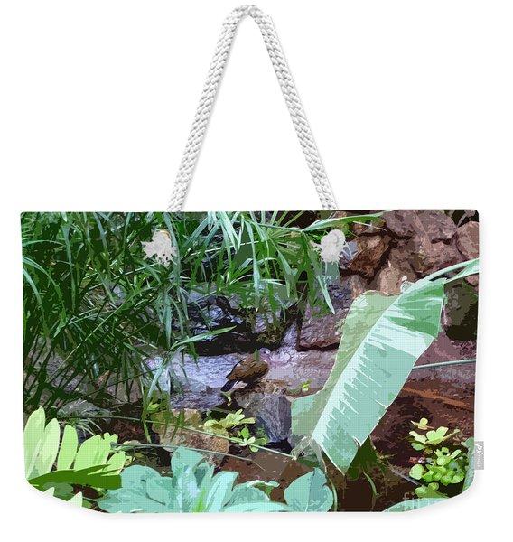 Bird Lagoon Weekender Tote Bag
