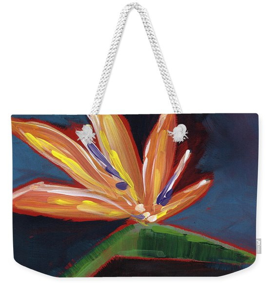 Bird Of Paradise- Art By Linda Woods Weekender Tote Bag