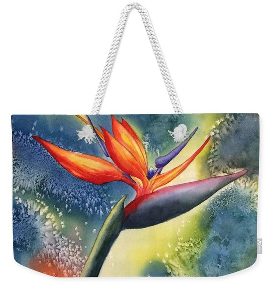 Bird Of Paradise Flower Weekender Tote Bag