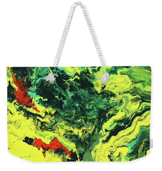 Bird Of Paradise Weekender Tote Bag
