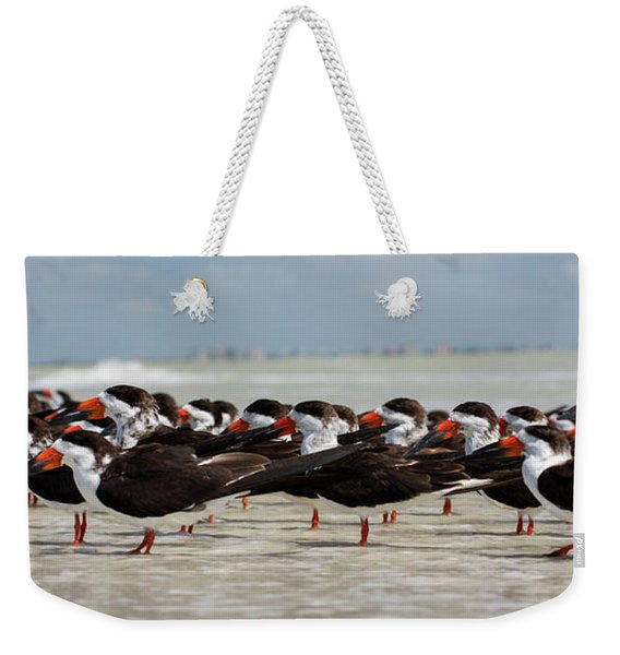 Bird Party Weekender Tote Bag