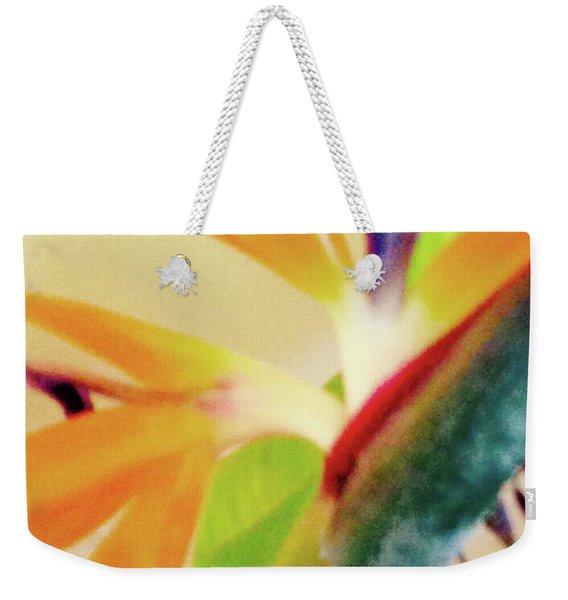 Birds Bromeliads Halyconia 2 Weekender Tote Bag