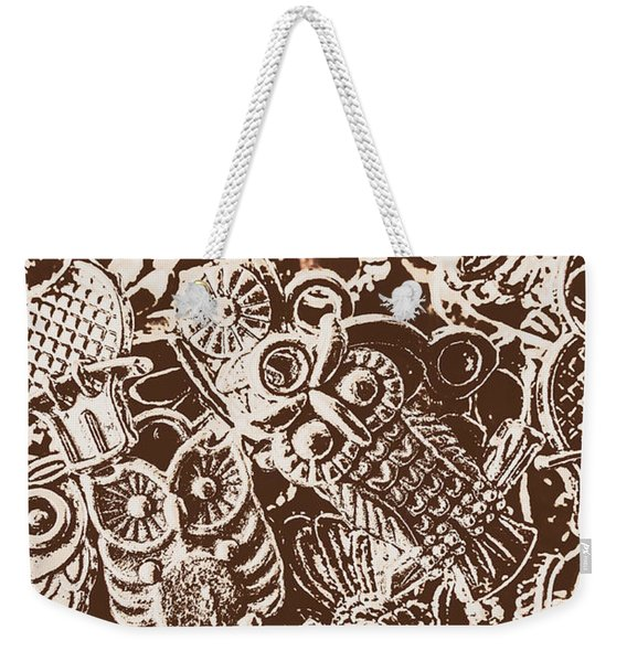 Birds From The Old World Weekender Tote Bag