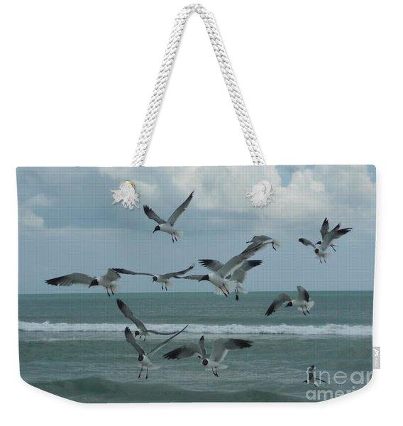 Birds In Flight Weekender Tote Bag