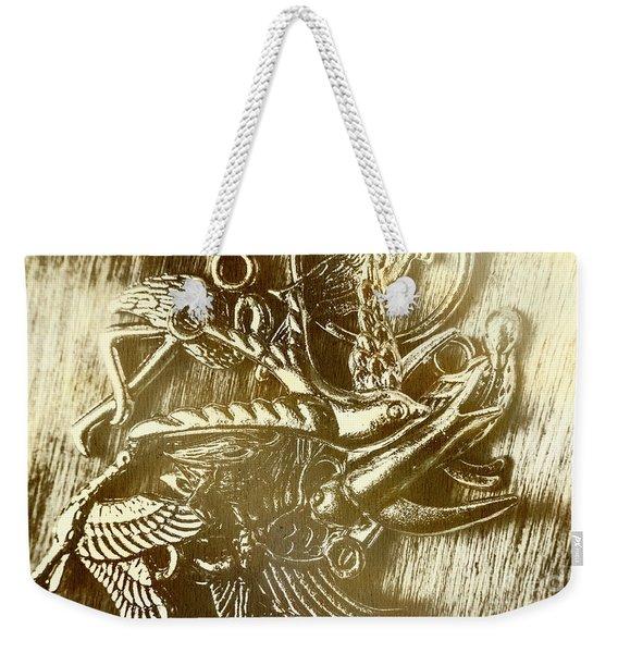 Birds Of Metal Weekender Tote Bag
