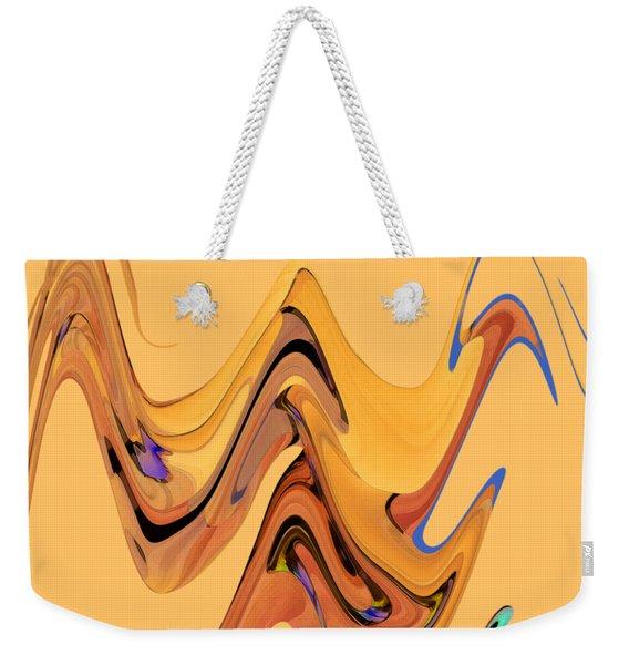 Birds Of Paradise Improvisation Weekender Tote Bag