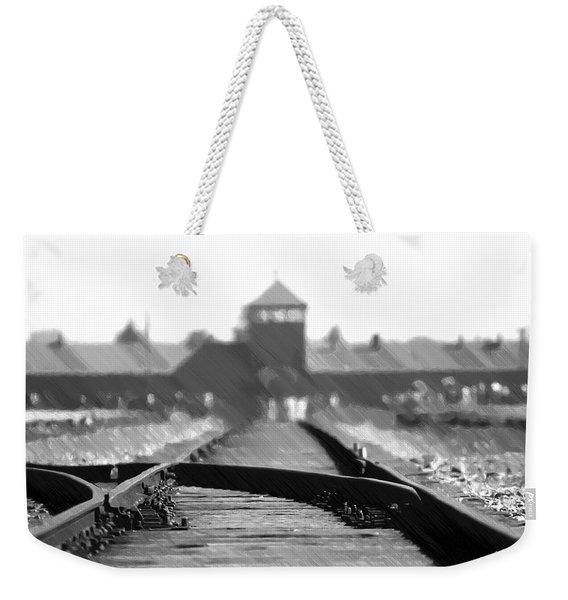 Birkenau / Auschwitz Railhead - Pol402324 Weekender Tote Bag