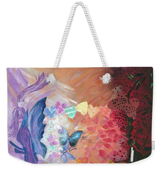 Birth Of A Monarch Weekender Tote Bag