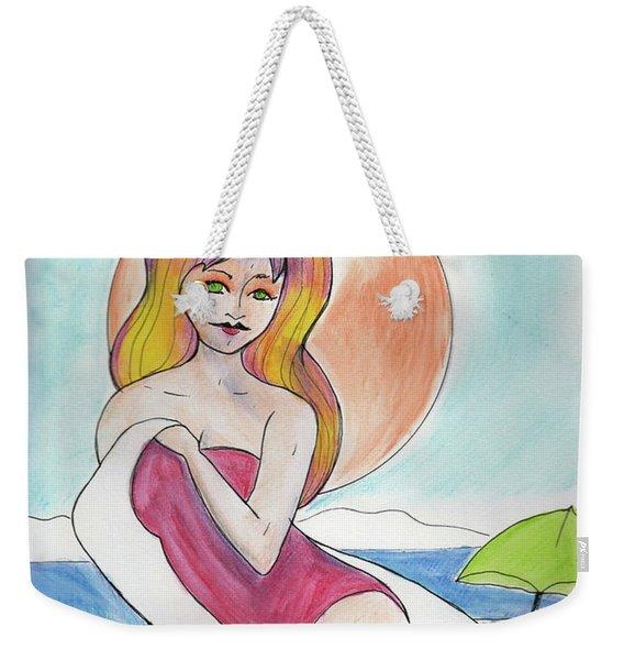 Birth Of Venus Weekender Tote Bag