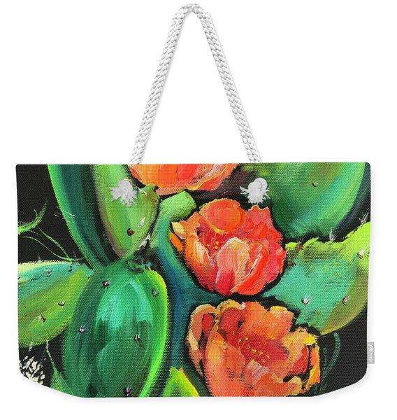 Birthday Blooms Weekender Tote Bag
