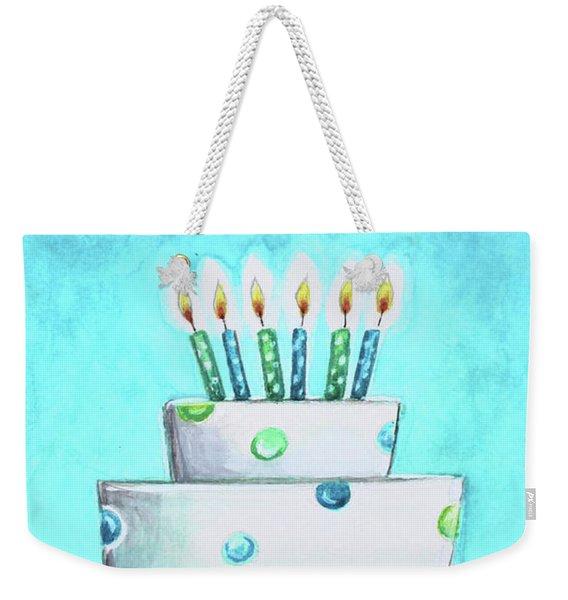 Birthday Glow Weekender Tote Bag