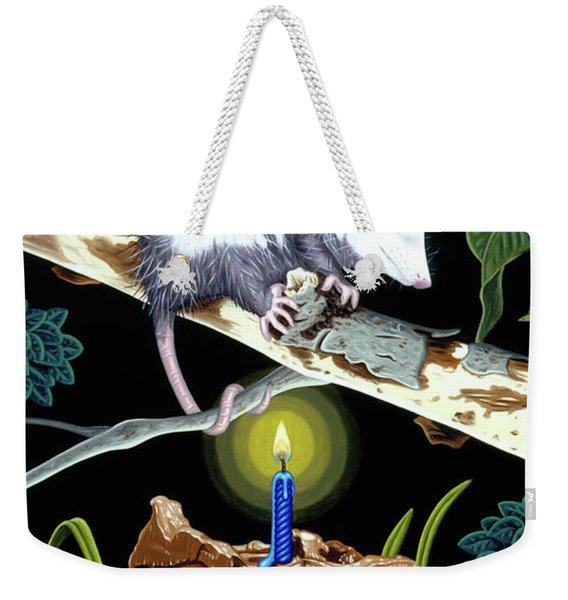 Birthday Surprise Weekender Tote Bag