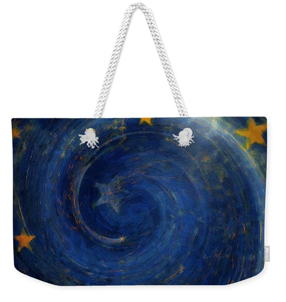 Birthed In Stars Weekender Tote Bag